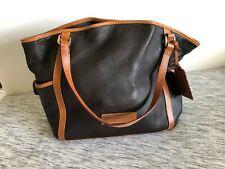 Dooney & Bourke Black/Brown Leather
