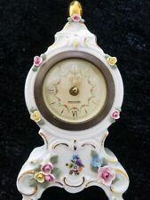 Vintage Mercedes Ceramic Clock