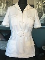 Genuine British Royal Navy White Womans Officers No1.BW Class 1 Uniform Jacket