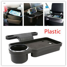 Genuine Car Drink Food Cup Tray Holder Seat Back Stand Table Desk For Any Car
