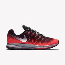 NIKE Air Zoom PEGASUS 33 SCUDO MEN'S RUNNING UK 8.5 Eur 43 RRP £ 120 SPEDIZIONE GRATUITA