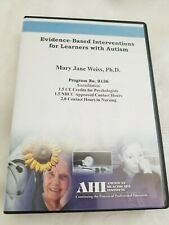 AHI Trade Lecture: Evidence Based Interventions for Learners with Autism CD NEW