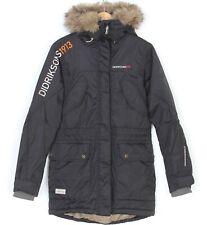 DIDRIKSONS IRENE PARKA Fur Hooded Padded Jacket Women Size 36 / UK 10 MJ1367