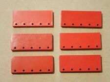 Bayko red pieces        (G224)