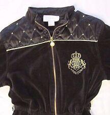 VTG 80s 90s Ivana Trump Black Velour Jumpsuit Loungewear Studio 54 Disco Romper