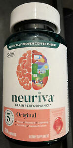 Neuriva Brain Performance Original Gummies, Strawberry - 50 Count