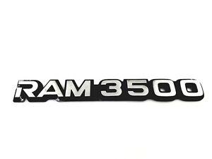 94-01 DODGE RAM 3500 TRUCK SIDE 94-03 RAM 3500 VAN REAR EMBLEM SYMBOL OEM (2000)