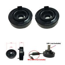 70mm Car Headlamp Dust Cover Dustproof Cap For LED Headlight Installation