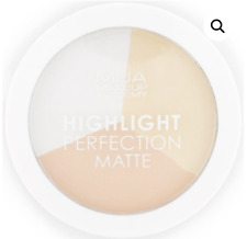 MUA HIGHLIGHT PERFECTION MATTE HIGHLIGHTER COMPACT SHADE NATURAL LIGHT NEW