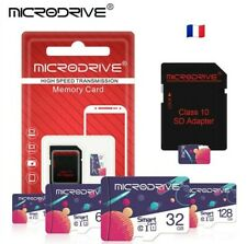 Micro SD SDHC TF Carte Mémoire MICRODRIVE 32Gb Go Class 10    (8 16 64)