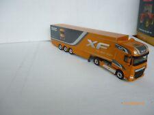 WSI Models- 1:50 DAF XF SUPER SPACE CAB 4x2+Box Trailer-3 AXLE VNM OHNE BOX!!