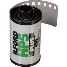 *New* Ilford HP5 Plus 24 exp 35mm B&W film (5 Rolls) - Fresh Stock