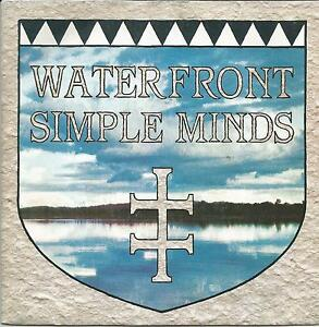 SIMPLE MINDS Waterfront FRENCH SINGLE VIRGIN 1983