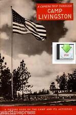 A Camera Trip Through Camp Livingston, LA - a Digital PDF Document or CD