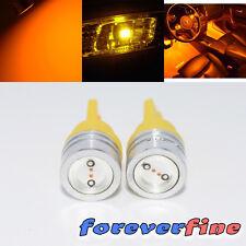 Dash Board 1 Watt LED Yellow Reverse/Interior Light Bulb 2 pc 194/168/T10/184