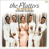 THE PLATTERS - ALL THEIR HITS 2 VINYL LP NEU