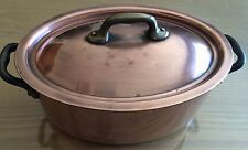ancien petit faitout ou casserole en cuivre made in France