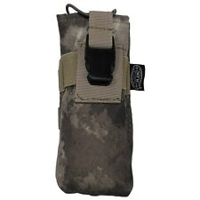 US HDT MOLLE camo Army Military camouflage Radio pouch Funkgerätetasche