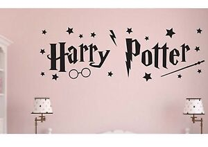 HARRY POTTER - MOVIE wall art STICKER DECAL Children decor BOYS GIrl STARS