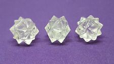 1 x Sacred Platonic Solid 20 Point Merkaba Crystal Water Element Creativity Gift