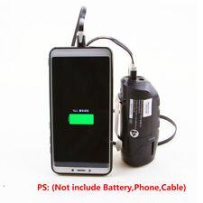 Replacement BOSCH BHB120 10.8V-12V(Max) Li-ion Battery USB&DC Charging Adapter