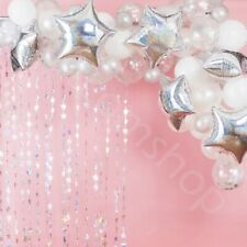 65pc Iridescent Balloon Arch Frame Kit Wedding Birthday Balloon Garland Decor