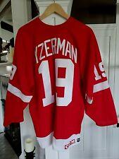 Millennium Detroit Red Wings Steve Yzerman 1OO% Authentic Pro CCM Jersey sz 56