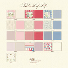 Pion Design Patchwork of Life Collection 12x12  Scrapbook Paper 13 sheets