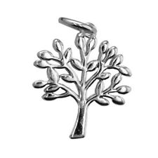 Sterling Silver Tree Charm, 15x17.2mm (S803)