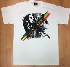 Bob Marley Zion Rootswear New Without Tags Fighting for Survival Men's 1XL Shirt