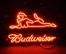 "New Budweiser Dancer Live Nudes xxx Beer Neon Sign 17""x14"""