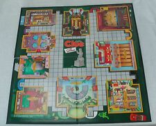 2002 The SIMPSONS 2nd Ed. CLUE Replacement GAME BOARD Springfield Locations