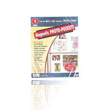 Freez-A-Frame Magnetic 8.5'' x 11'' Photo Frame Pocket Slam Proof Magnet
