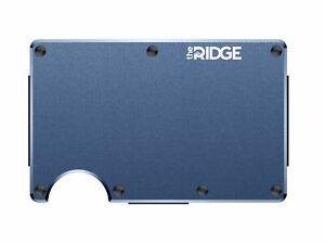 The Ridge Wallet Aluminium Navy Cash Strap   Geldband   Geldbörse RFID sicher