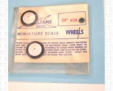 Williams Bros Parts ¾ Inch Airplane Wheels 124