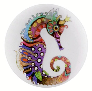 Sea Horse Multi-Color Ocean 20mm Snap Interchangeable Jewelry For Ginger Snaps