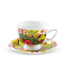 Servizio da tè khokhloma TAZZA con Sotto Tazza 370 Servizio Da Caffè Tazza