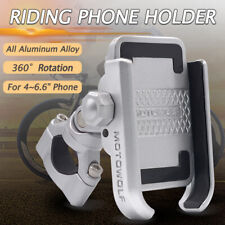 MOTOWOLF Metal Bike Bicycle Motorcycle Handlebar Mount 360° Mobile Phone