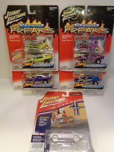 Johnny Lightning Zingers 69 Dodge Daytona Wing Thing + Cuda + white lightning