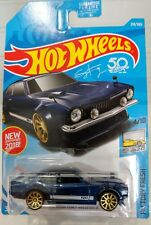 2018 Hot Wheels #219/365 Factory Fresh #4/10 Dark Blue Custom Ford Maverick