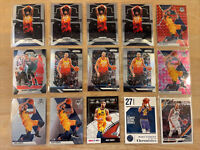 Panini Prizm and Mosaic Rudy Gobert Lot (15) Pink Camo, Red and Base Optic Mint