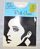 Vintage AGILON Stretch Stockings by Ruth Anne Bone One Size Fits 8.5-11 Nylon