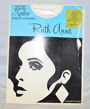 Vintage AGILON Stretch Stockings by Ruth Anne Bone One Size Fits 8.5-11 Nylon