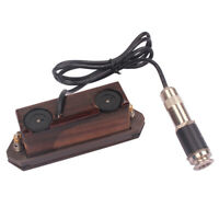 Wood Magnetic Acoustic Guitar Sound Hole Pickup w/ Endpin Jack Musical