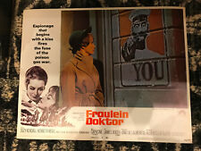 Fraulein Doktor 1969 Paramount lobby card Suzy Kendall Capucine
