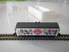 "Marklin mini-club Refrigerator Car ""Tutti Frutti"" Boxed 1:220 Z Scale"