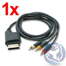 HD TV Premium RCA Composite AV A/V Cable for Microsoft Xbox 360 X360