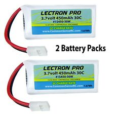 Lectron 3.7v 450mah 30c Batterie Lipo Dromida KODO & Hubsan X4