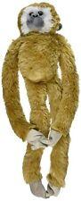 51cm Wild Republic Hanging Monkey White Handed Gibbon Soft Toy - 20 Plush