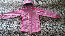 The North Face Hyvent multi color check print jacket rare and excellent size 6-8